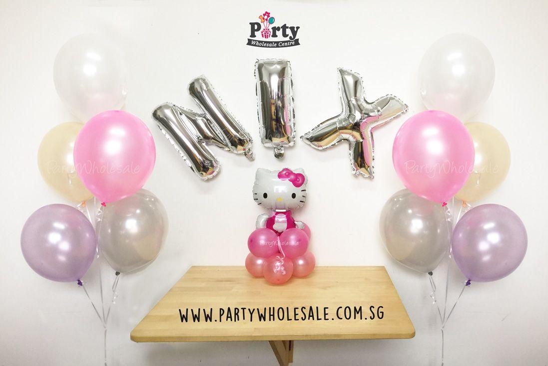 Pink Hello Kitty Balloon Singapore Party Wholesale Centre