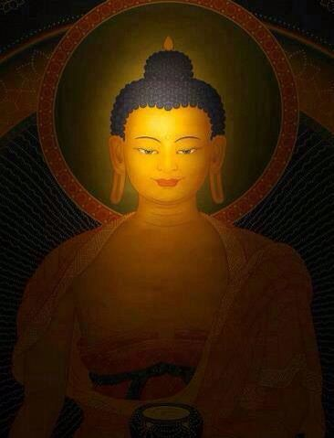 """""""You take refuge in the Buddha not as a savior- not with the feeling that you found something to make you secure- but as an example, as someone you can emulate. He is an example of an ordinary human being who saw through the deceptions of life, both on the ordinary and spiritual levels."""" ~Chögyam Trungpa Rinpoche"""