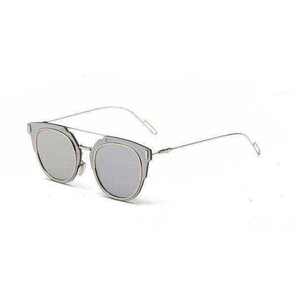 Vintage Gant Round Sunglasses Desginer Rim Full Frame Retro Metal Tulc3FKJ1