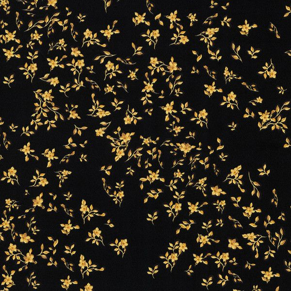 Versace Barocco Flowers Wallpaper