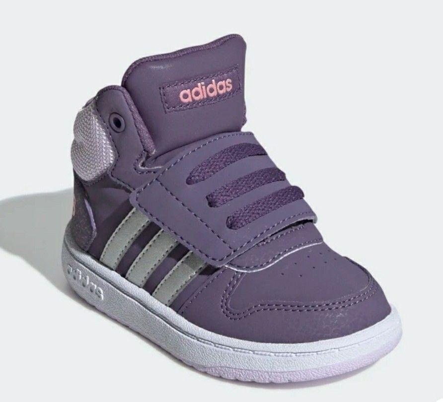 Scarpe bimbi Adidas hoops 2.0 mid   Top sneakers, Sneakers, Adidas