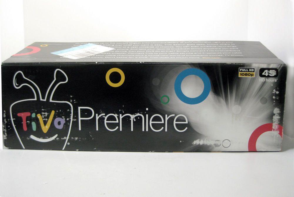 TiVo Premiere Series DVR  TCD 746320 320GB 1080p Remote NEW -Orig Packaging #TiVo