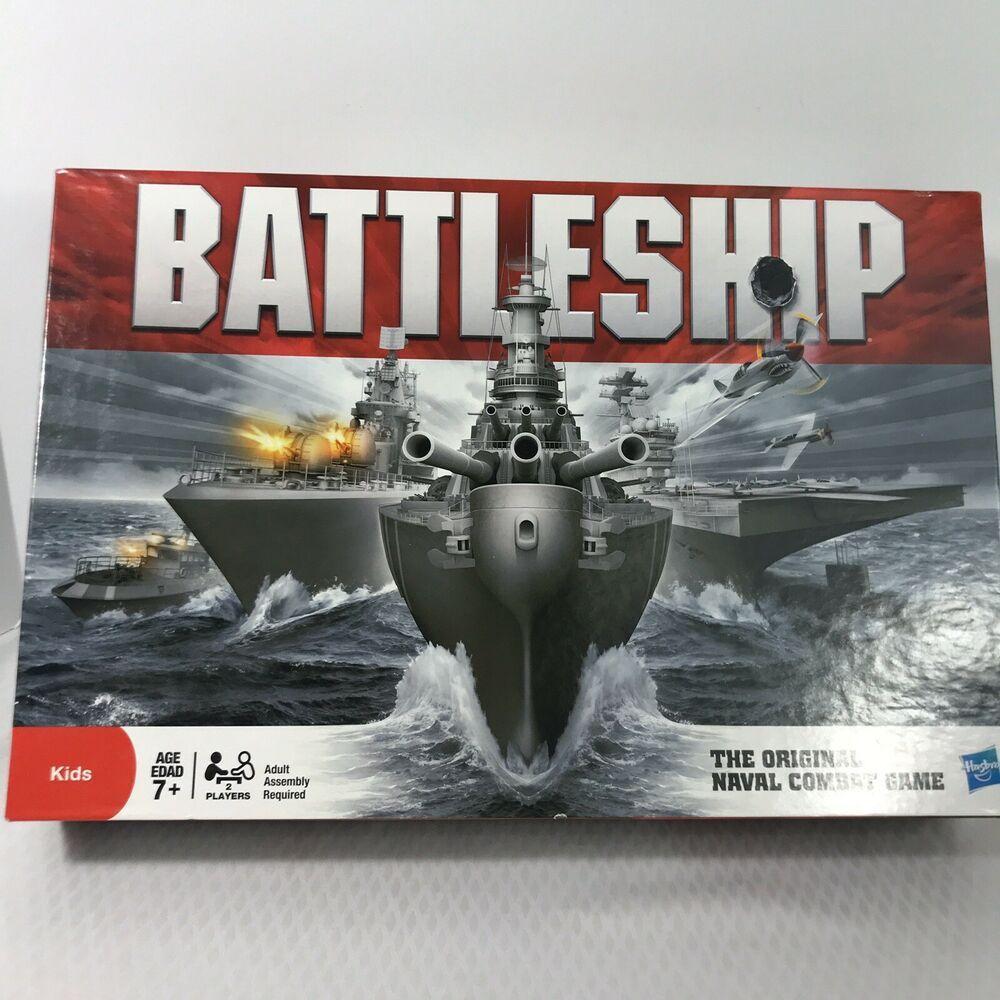 Battleship Original Naval Combat Game 2011 Complete