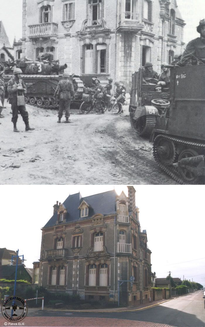 """Photo from album """"Normandy 1944 Photographs - Then and Now ..."""