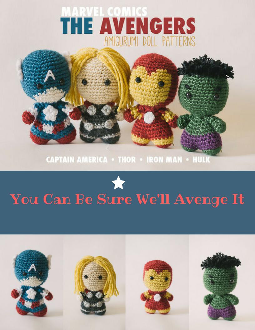 Avengers Amigurumi Pattern Topsimages