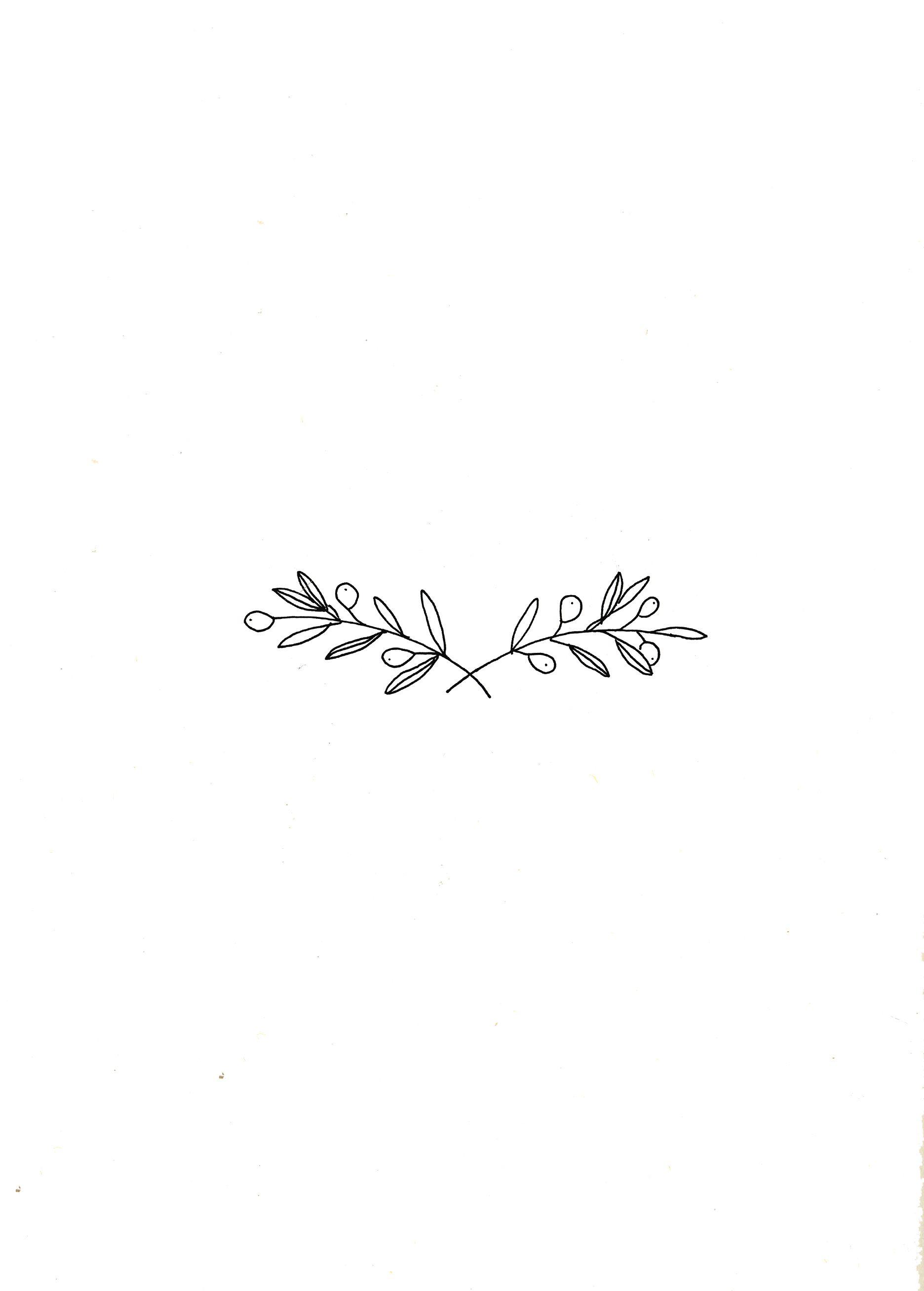 Simplicity By Ryn Frank Cute Tattoos Olive Branch Tattoo Tattoo Designs