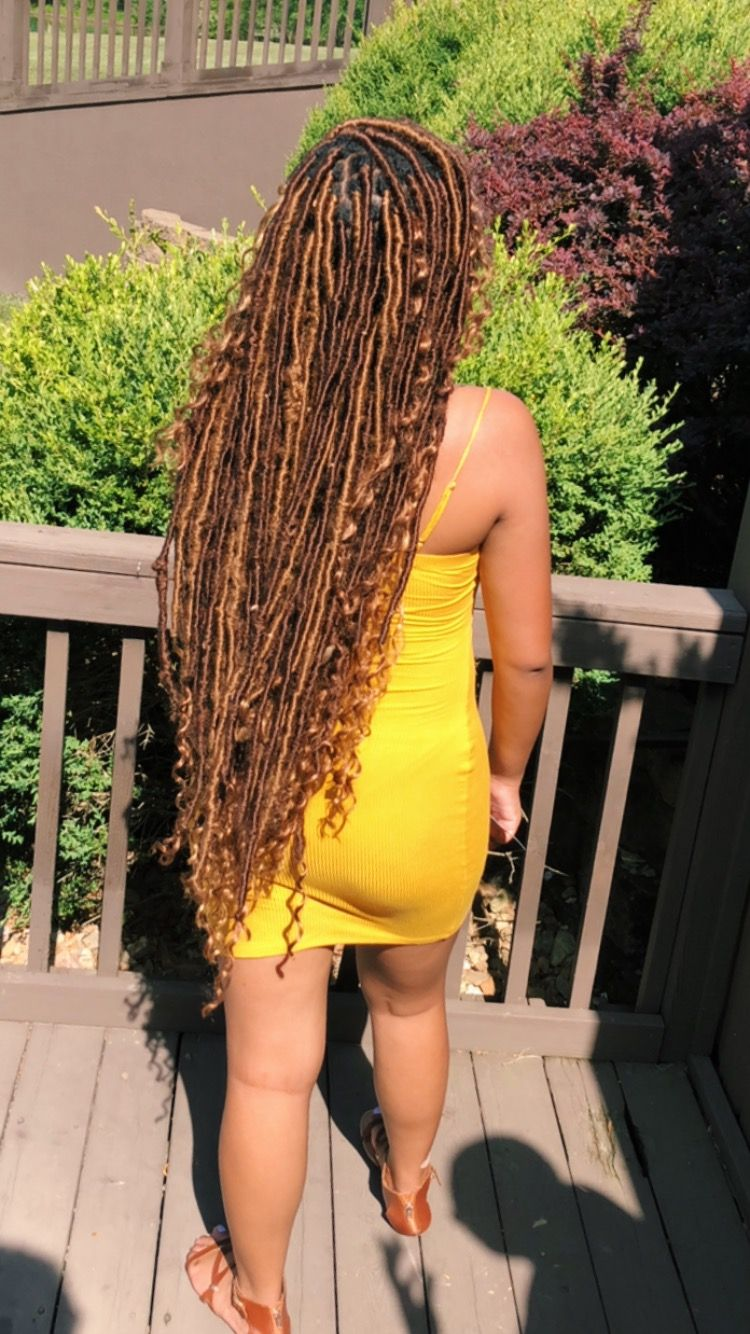 Extra Long Dess Locs With Images