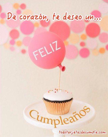 tarjetas de cumpleaños gratis tarj de cumple Pinterest