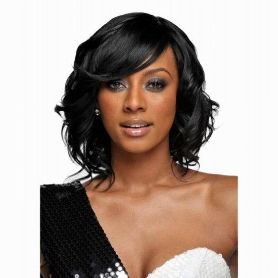 new cheap synthetic short curly wigs for black women with ...