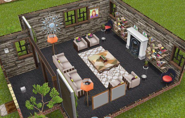 Cgzmnbewiaer2vw Jpg 600 383 Sims House Design Sims House