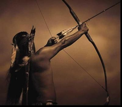 Bow  Arrow  Native American  I know we can't do bows and