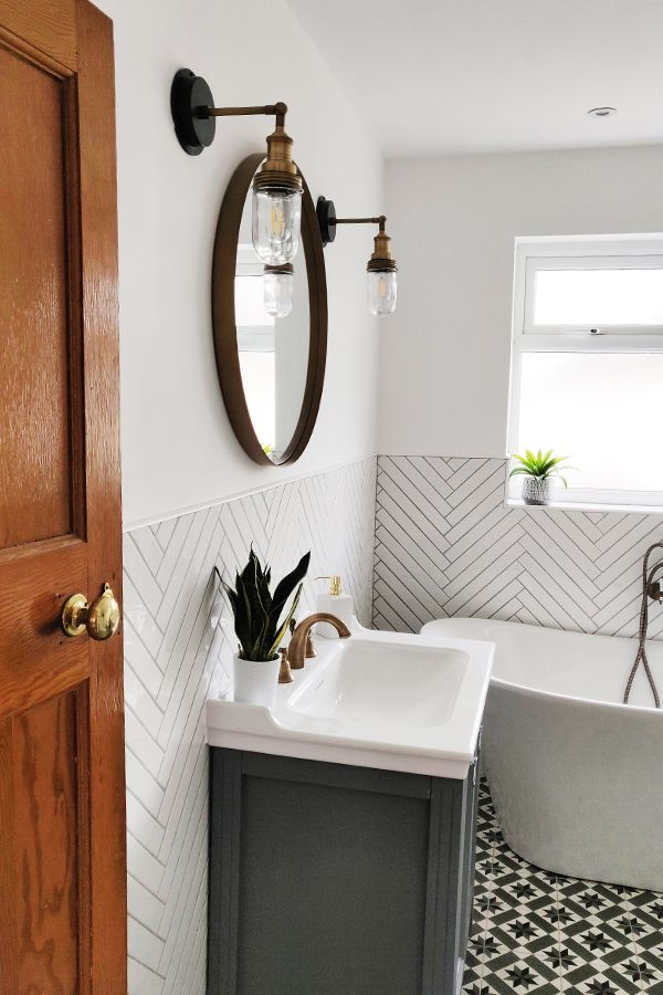 50 Small Bathroom Ideas That Increase Space in 2021