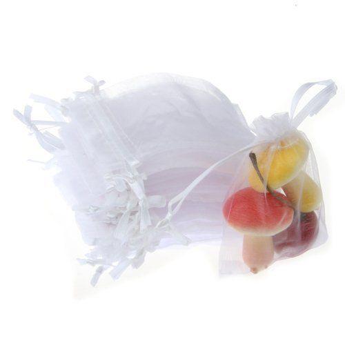 100x Organzasäckchen Geschenk Schmuck Hochzeit Süßigkeiten Gastgeschenke