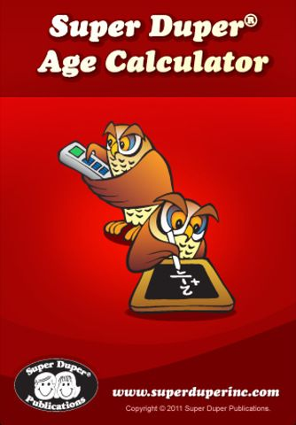 Free. Super Duper Age Calculator an easy way to calculate