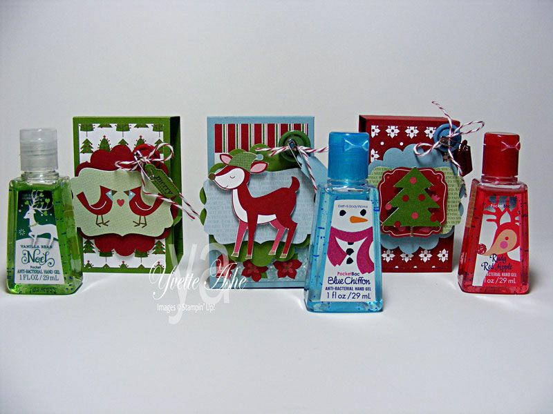 Holiday Hand Sanitizer Covers By Yvette Cards And Paper Crafts