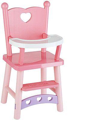 You Amp Me High Chair Baby Doll Nursery Doll High Chair Kids