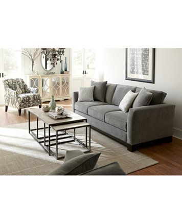 Kenton Fabric Sofa Bed Queen Sleeper Custom Colors Macys