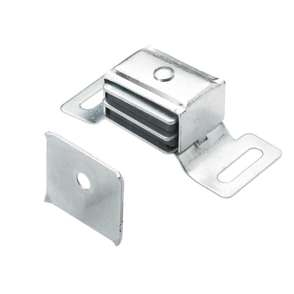 Everbilt Magnetic Catch Aluminum 1 Pack 9236029 The Home Depot Garage Door Decorative Hardware Door Catches Wooden Cabinets