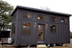 Black Pearl Tiny House by Nomad Tiny Homes (23.5' X 8.5') 200 Sq Ft + 60 Sq Ft Loft