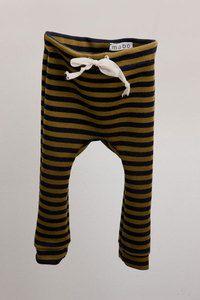 Striped Baby Drawstring Pants $35