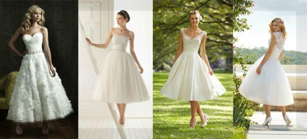 Mori Lee Tea Length Wedding Dresses
