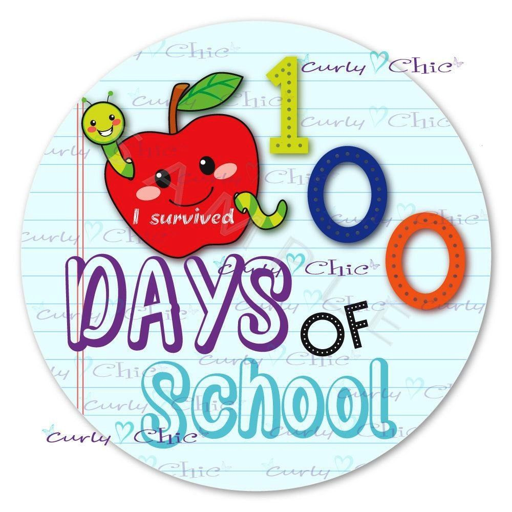 Days of School Stickers Custom Back to School Labels Welcome to School Labels Personalized School Day labels Custom Paper labelscustom100 Days of School Stickers Custom B...