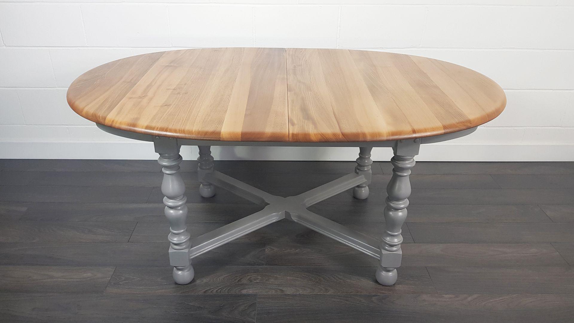 Kleiner Runder Esstisch Zum Ausziehen Tisch Mit 4 Stuhlen