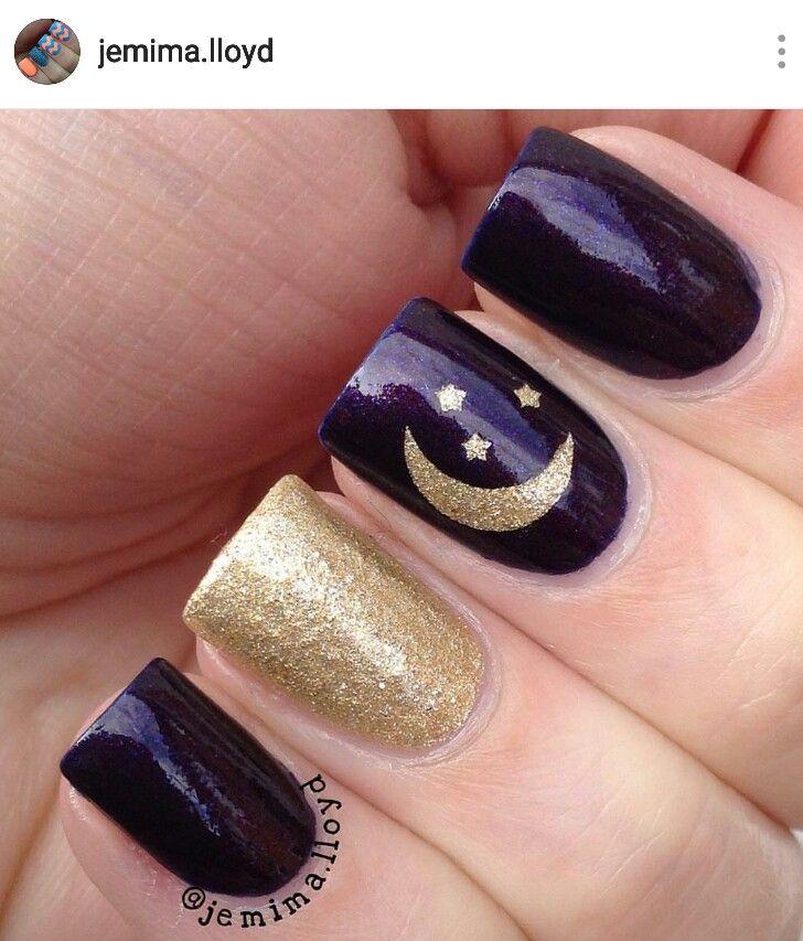 We Support And Protect Nail Technicians Www Alternativebalance Net Star Nail Designs Moon Nails Star Nails