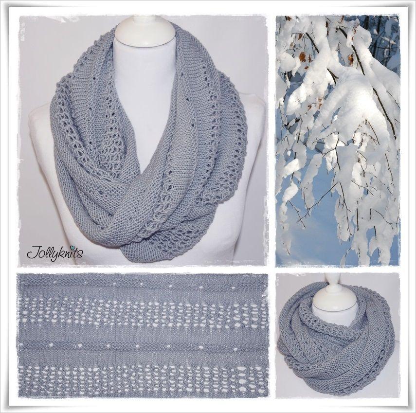 WINTER WONDERLAND Strickanleitung Loop / Cowl knitting pattern ...