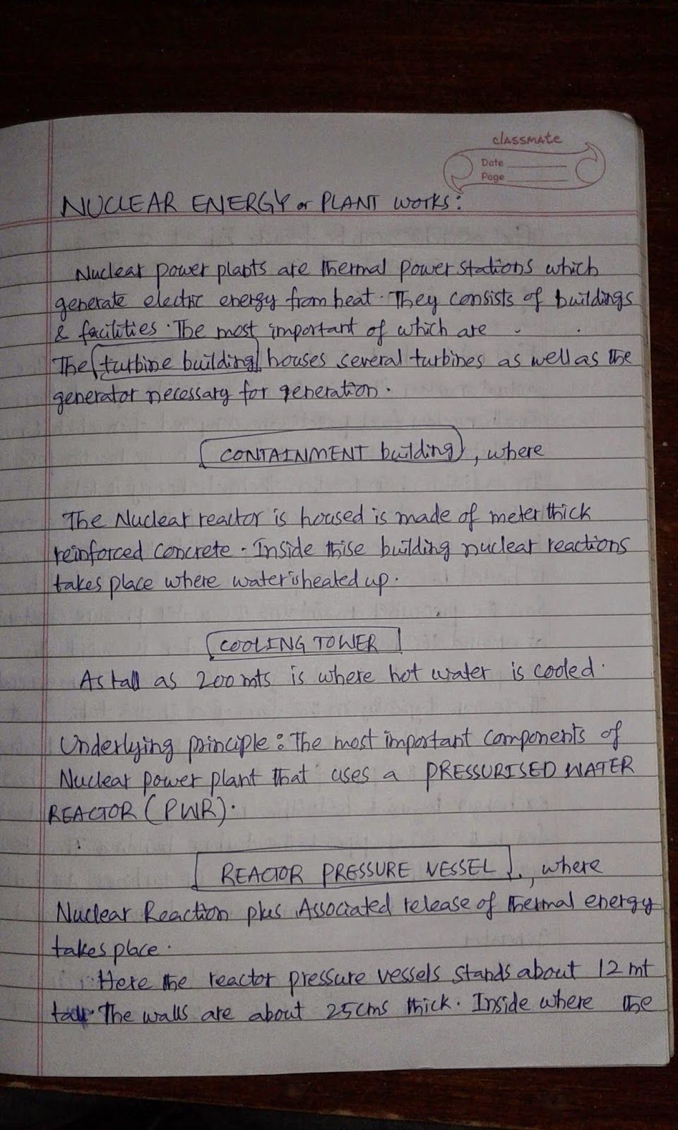 Life Learning School Nuclear Power Plant Overview Essay On Energy