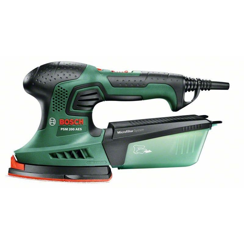 Ponceuse Multifonction Filaire Bosch Psm 200 Aes 200 W En 2020 Multifonction Ponceuse Et Bosch