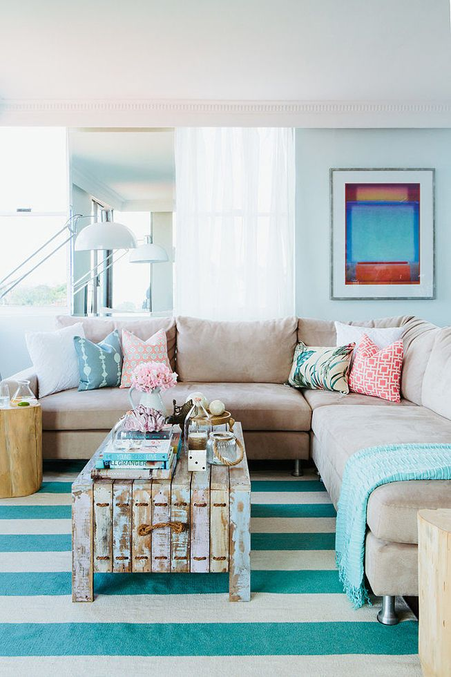 beachside apartment decor by nest designs coastal decor