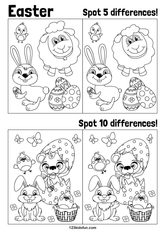 Easter 123 Kids Fun Apps Easter Printables Free Easter Kids Easter Preschool [ 1240 x 877 Pixel ]