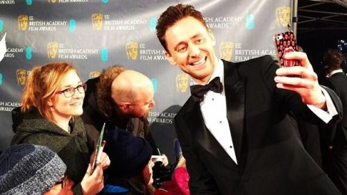 Tom Hiddleston at the 2015 #EEBAFTAs. Via Torrilla.tumblr.com