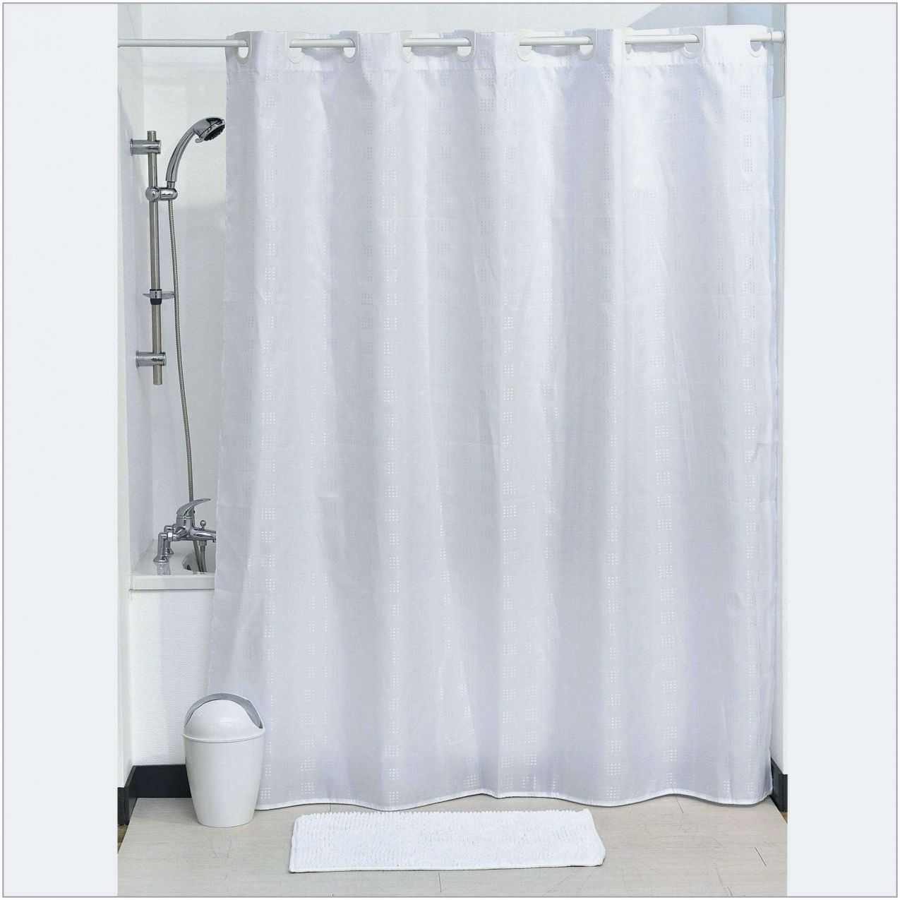 70 Rideau De Baignoire Castorama 2020 Check More At Https Www Unionjacktrooper Com 70 Rideau De B Hookless Shower Curtain Shower Curtain Polyester Curtains