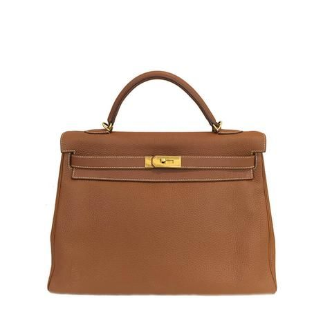 27659e04837 Hermes Kelly 40 Gold GHW  baghunter Hermes Kelly Bag