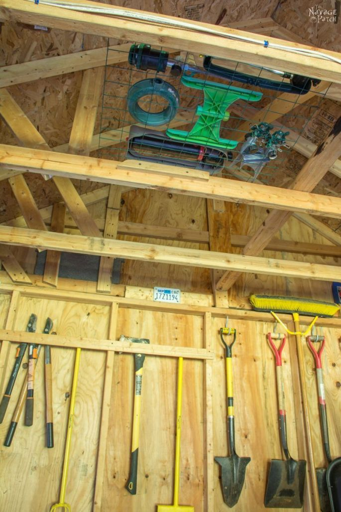 Garden Shed Organization Ideas And Tips The Navage Patch Storage Shed Organization Shed Storage Diy Storage Shed
