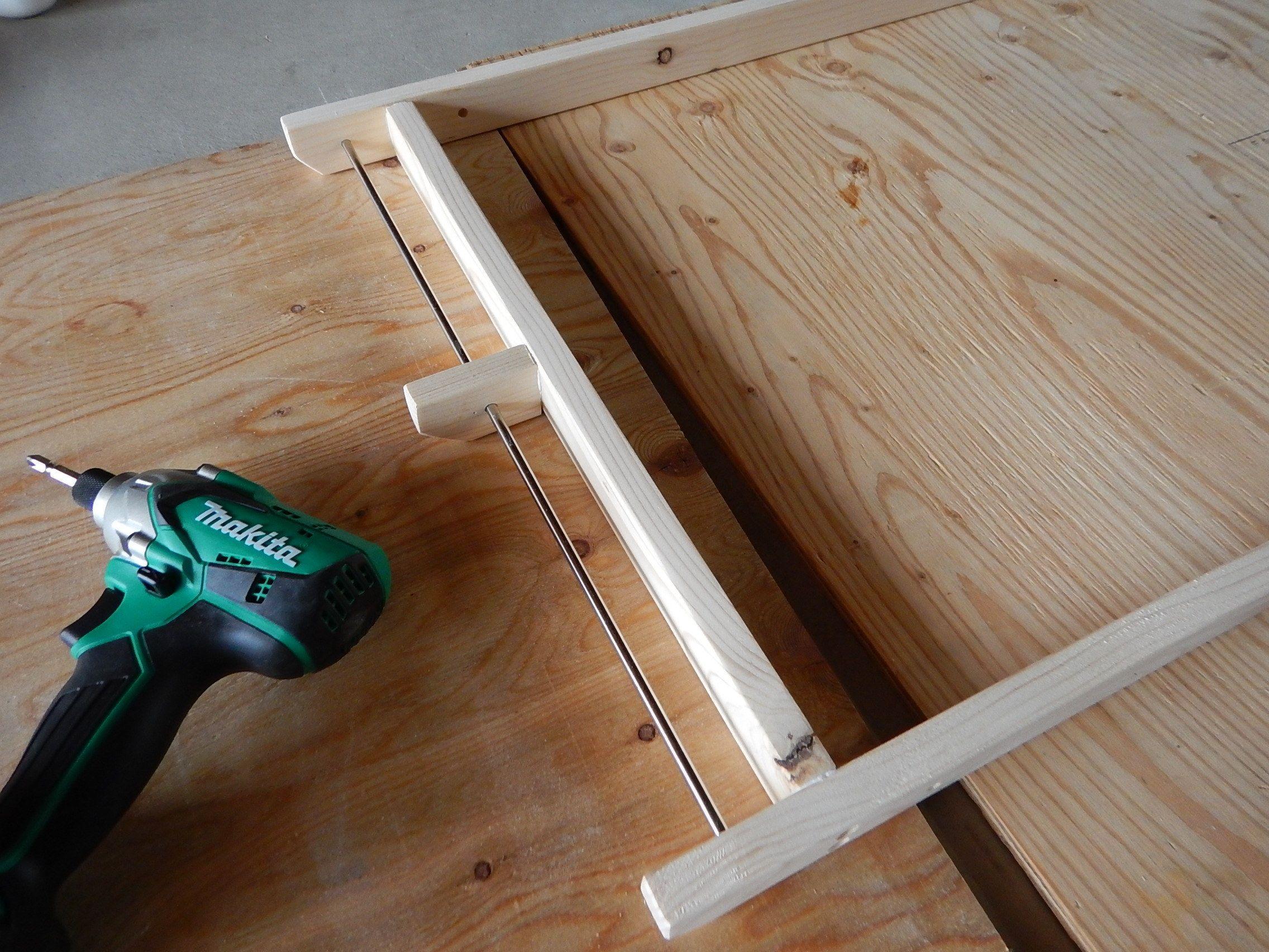 折りたたみローテーブル 自作編 ローテーブル キャンプ テーブル