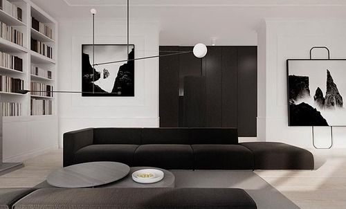 warsaw apartment/tamizo architects via: tamizo