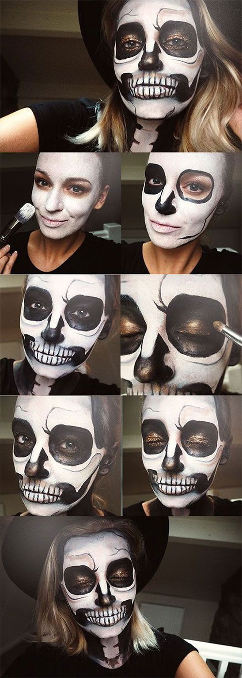 Photo of 18 Step by step made easy Halloween makeup tutorials for beginners …
