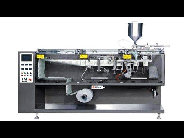 Horizontal Liquid Sachet Filling Packing Machine Automatische
