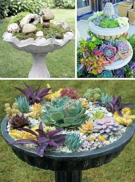 Creative Garden Container Ideas Fairygarden