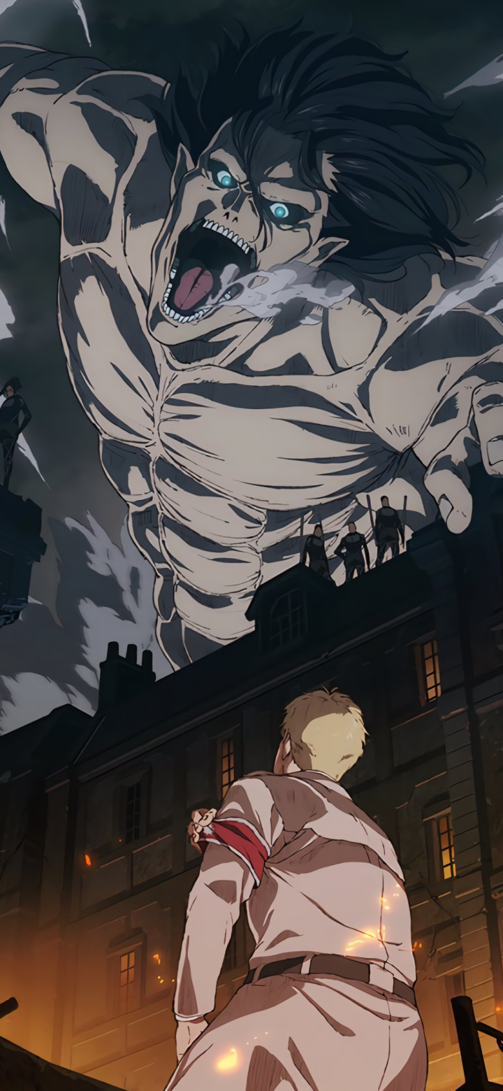 wallpapaer attack on titan