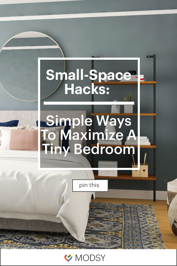 Small Space Ideas Simple Ways To Maximize A Small Bedroom With