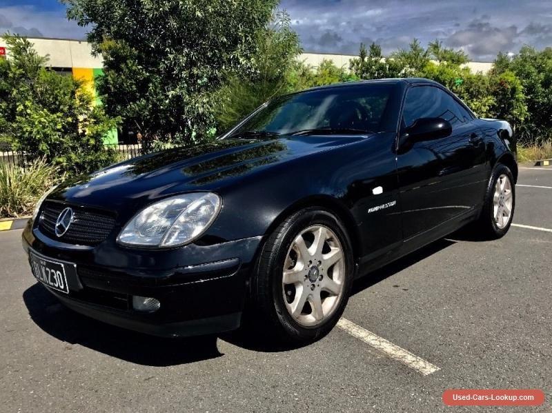 Mercedes Slk 230 Black Convertible With Images Mercedes Slk
