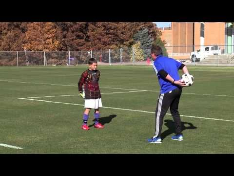 Goalkeeping Drills For The Beginner 02 Youtube Goalkeeper