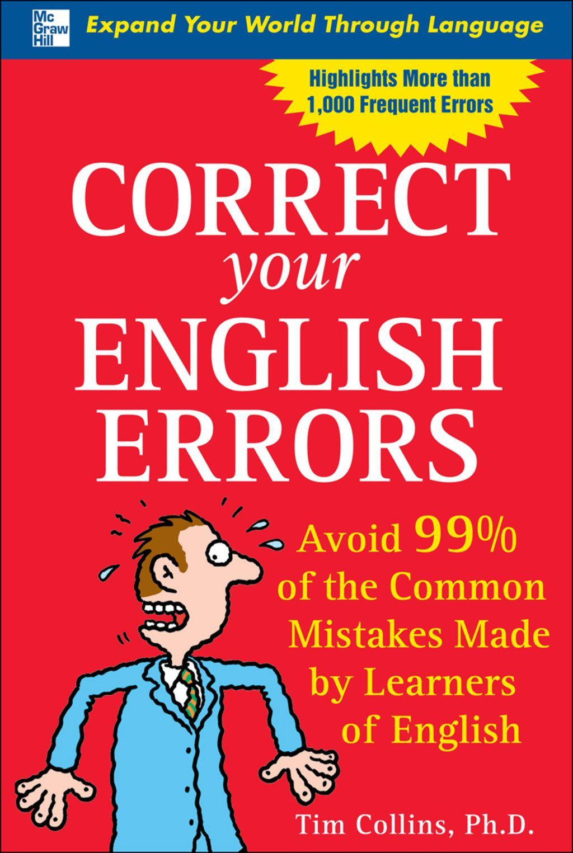 Correct Your English Errors Ebook