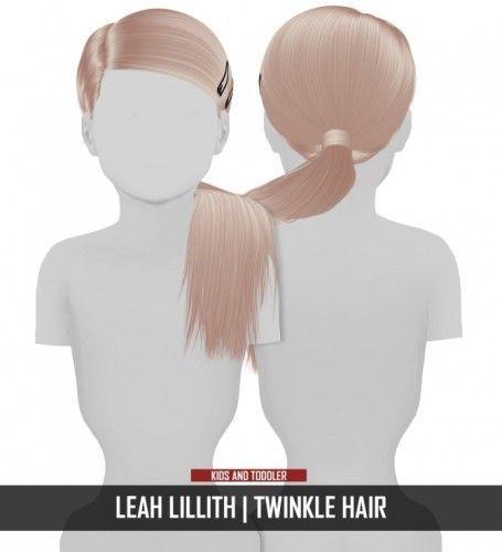 LEAH LILLITH TWINKLE HAIR KIDS UND TODDLER VERSION von Redheadsims für Die Sims... -  - #die #für #Hair #Kids #LEAH #LILLITH #Redheadsims #Sims #Toddler #twinkle #und #Version #von