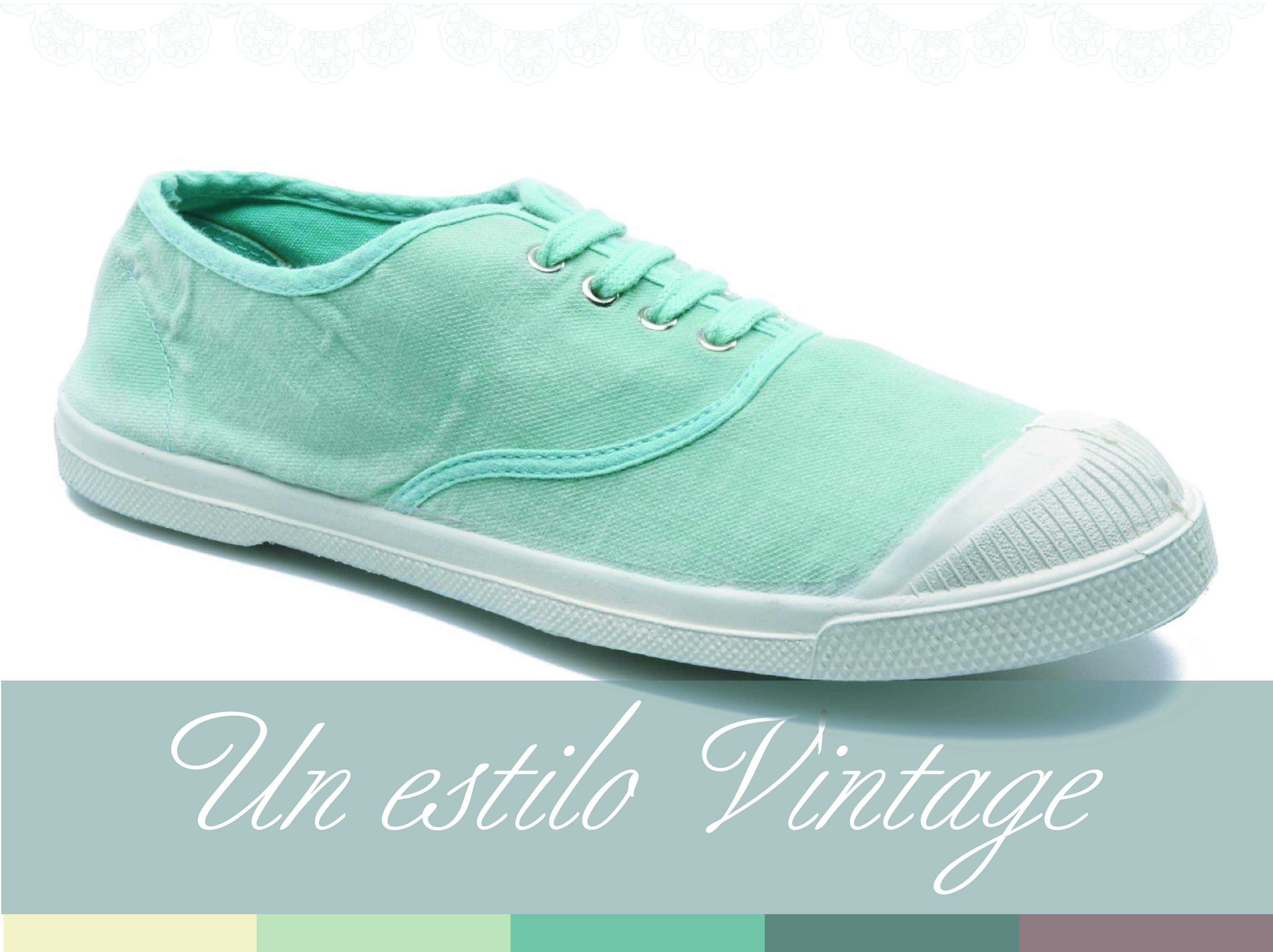 Algo más cómodo para no dejar nunca de lado tu estilo Vintage estas hermosas Zapatillas <3
