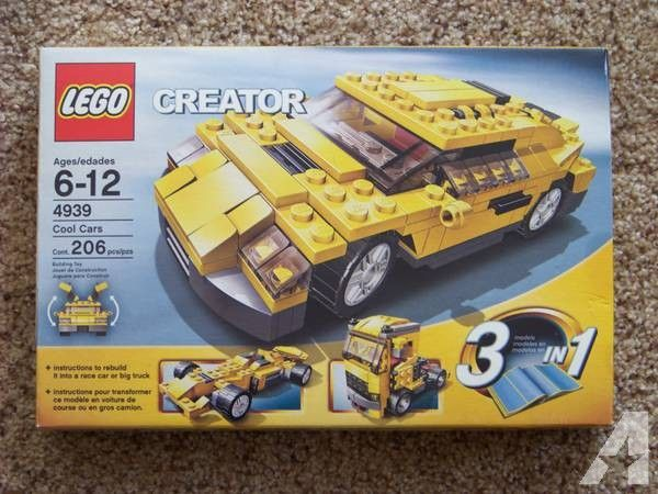 Lego Creator Cool Cars 4939 Collectible For Sale In Plymouth